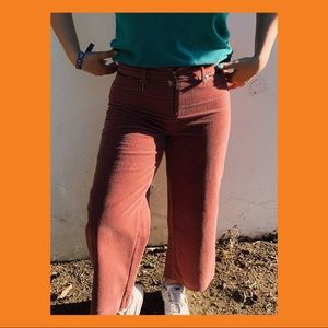 Pink Corduroy Jeans
